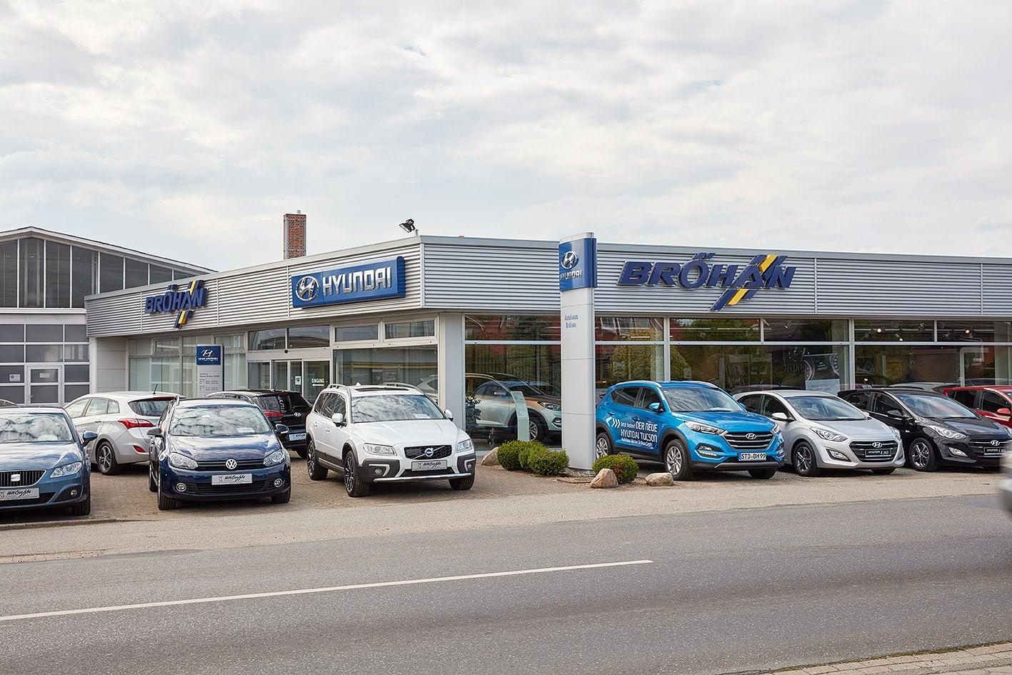 Autohaus Bröhan 2x in Ihrer Nähe - Autohaus Werner Bröhan GmbH