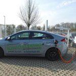 Elektro Ladesäule im Autohaus Werner Bröhan GmbH